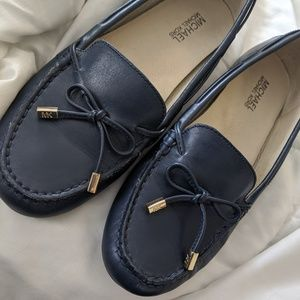 Michael Kors Navy Blue Loafers